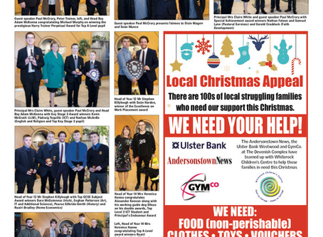 2018 Prize Night in the Andersonstown News