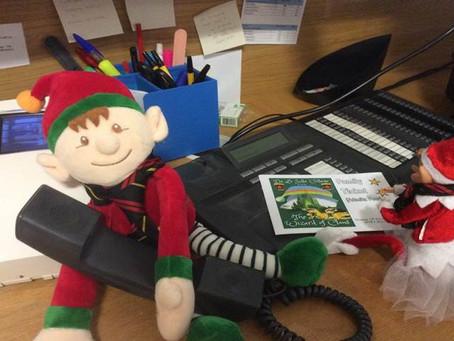 Lasallian Elves help sell tickets for School Show!