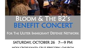 Bloom & The B2's Benefit Concert