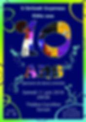 Affiche 10 ans Orient Express