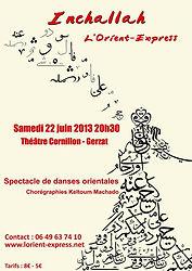Affiche Orient Express 2013