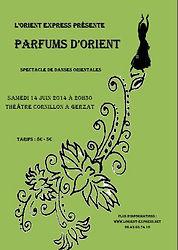 affiche orient express 2014