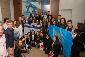 40 Young Ambassadors from Israel Are Currently Visiting Georgia in the Framework of a New Israeli