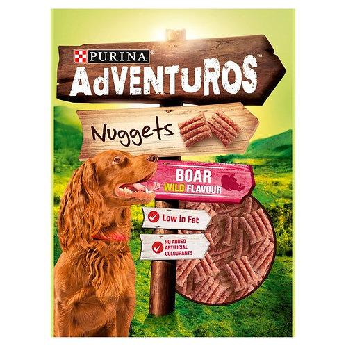 Adventuros Dog Treat Boar Flavour Nuggets 90g