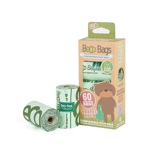 Beco Compostable Poop Bags. 60's