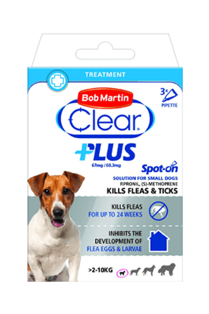 Bob Martin Clear Plus Flea & Tick Spot on