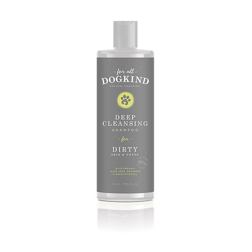 For All Dog Kind - Deep Cleansing Natural Shampoo for Dirty Skin and Coats