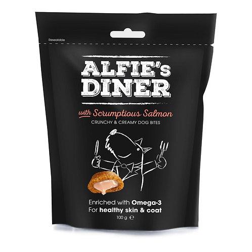 Alfie's dinner salmon dog treats