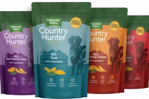 Country Hunter Superfood Selection Dog Pouches 12 X 150g