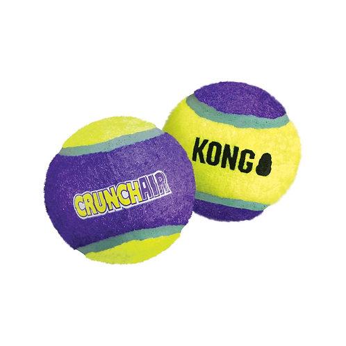 KONG Dog Toy CrunchAir Ball 3pk