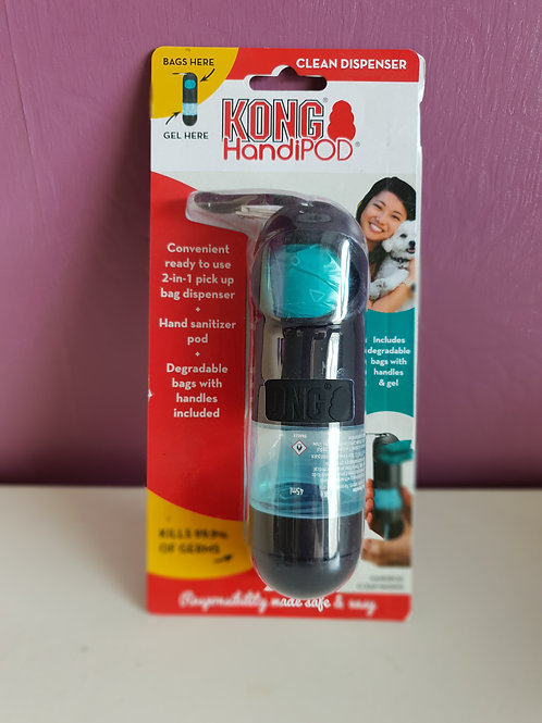 Kong HandiPod Poo bag and sanitiser dispenser
