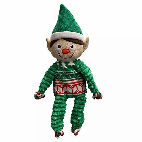 KONG Floppy Knots Holiday Elf - med