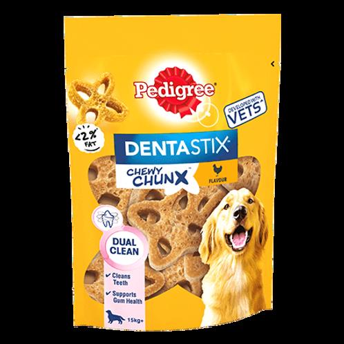 Pedigree Dentastix Chewy Chunx Maxi Dog Treat Chicken Flavour 68g