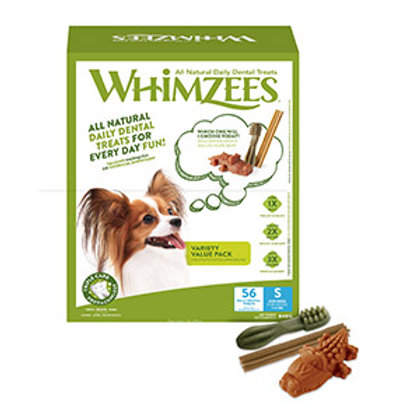 Whimzees Variety Value Pack Dog Chew Treats