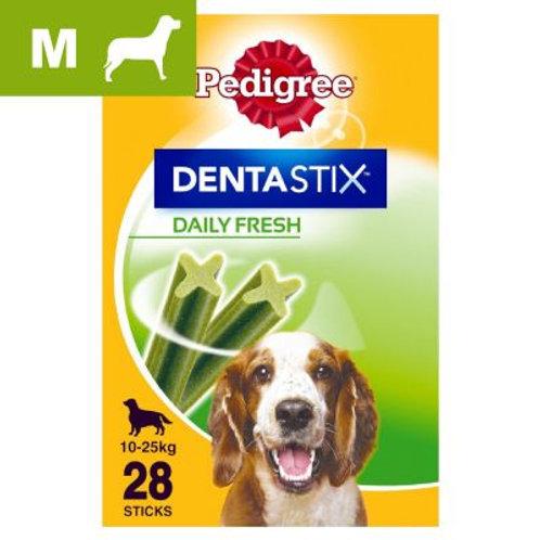 Pedigree Dentastix Fresh - Daily Freshness - Medium (10-25kg) 7 pack