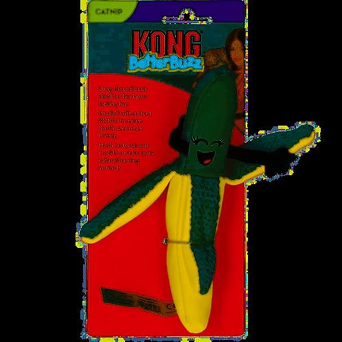 Kong Better Buzz Banana Cat/kitten toy