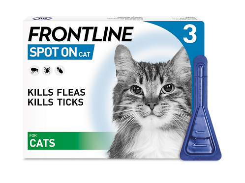 Frontline Spot On Flea and Tick Treatment Cat