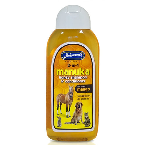 Johnsons Manuka Honey 2-in-1 Pet Shampoo