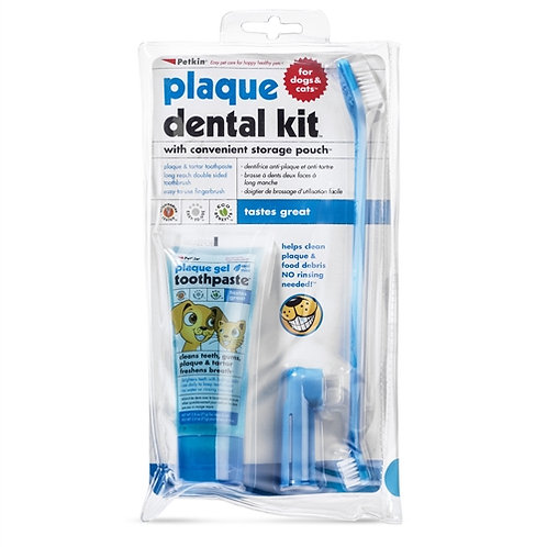 Petkin plaque dental kit rrp £7.99