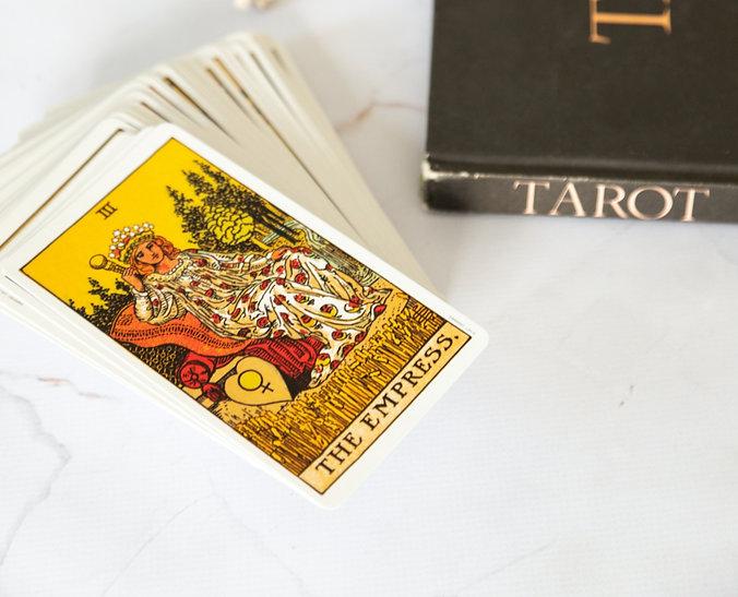 Tarot book with The Empress card from the Rider Waite Tarot deck_edited.jpg