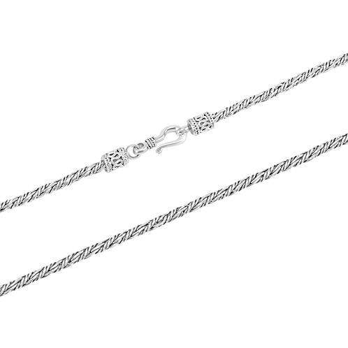 Bali Sterling silver necklace  (2.5 mm)