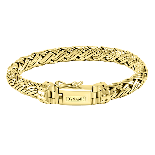 Bali 18k Yellow Gold bracelet (9 mm)