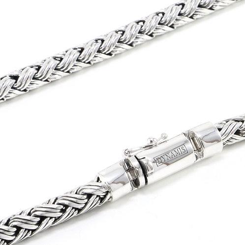 Heavy Sterling Silver Bali Chain (7 mm)