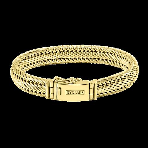 Bali 18k Yellow Gold bracelet (11 mm)
