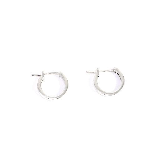 Tiny Sterling silver Hoop Earrings