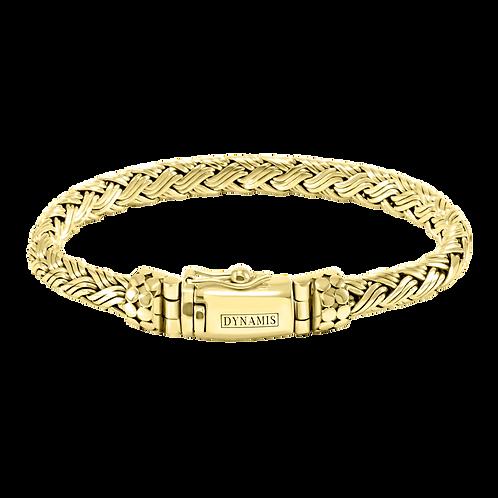 Bali 18k Yellow Gold bracelet (7 mm)