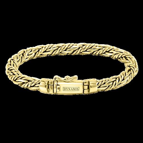 Bali 18k Yellow Gold bracelet (6 mm)