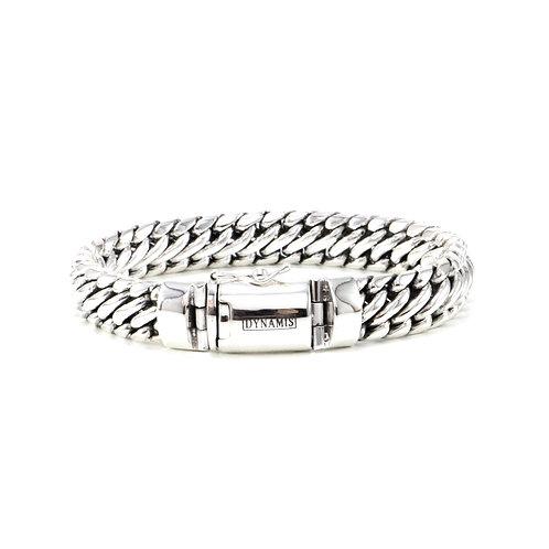 Heavy sterling silver bracelet (12 mm)