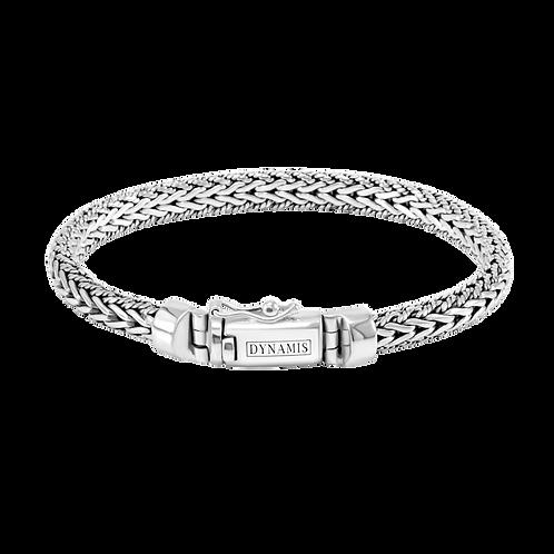 Foxtail link Sterling silver bracelet (6.5 mm)