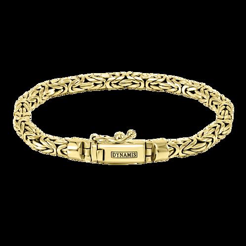 Byzantine 18k Yellow Gold bracelet    Round shape (5 mm)