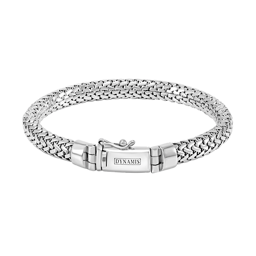 Bali Sterling silver bracelet (8 mm)