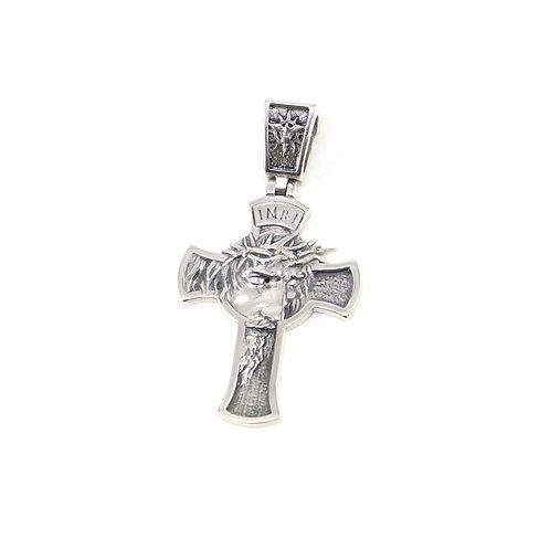 Sterling silver Catholic cross