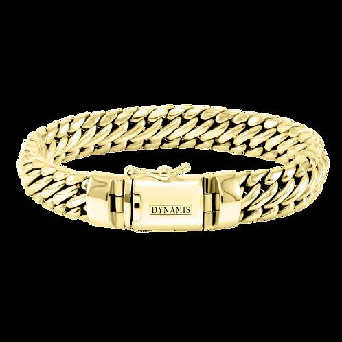 Heavy 18k Yellow Gold bracelet (12 mm)