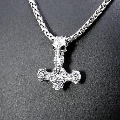 Sterling silver Viking axe pendant