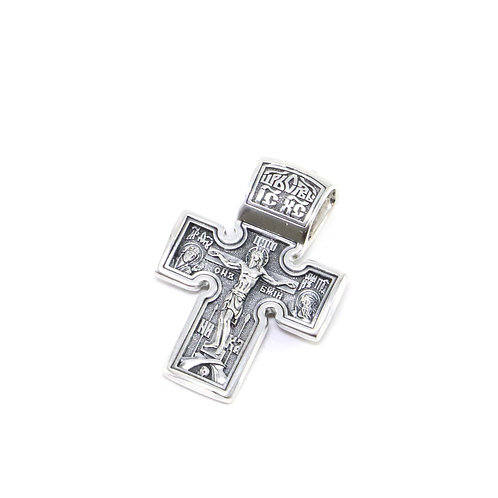 Sterling silver Greek-Russian orthodox cross