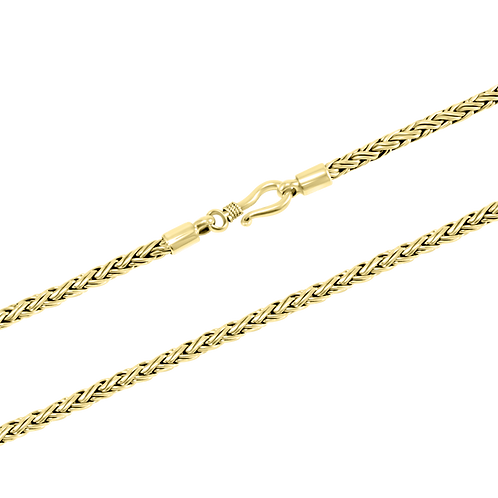 Bali 18k Yellow Gold necklace