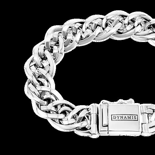 Bali Sterling silver bracelet (12 mm)