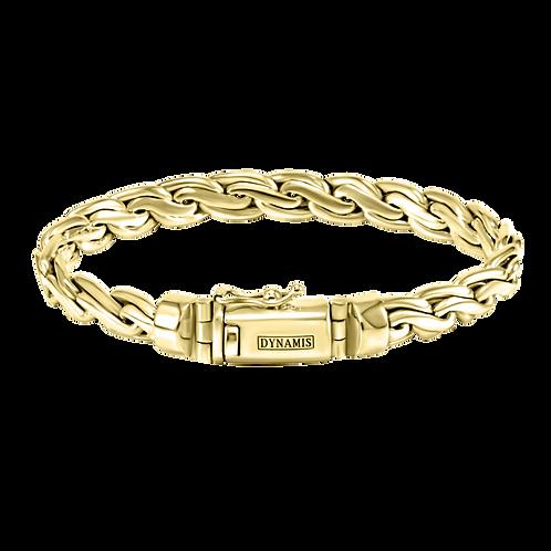 Bali 18k Yellow Gold bracelet (8 mm)