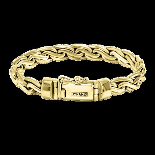 Bali 18k Yellow Gold bracelet (10 mm)