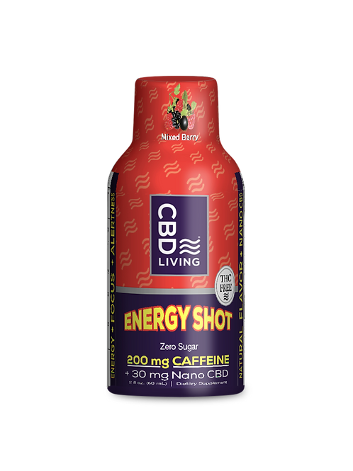 CBD Living Energy Shot - 30mg CBD Isolate