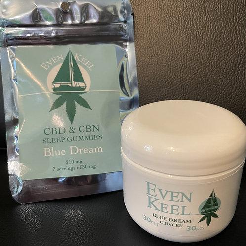Even Keel CBD/CBN Sleep Gummies