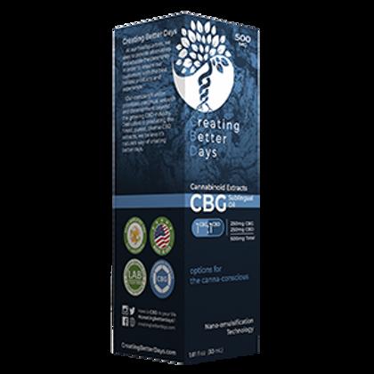 Creating Better Days Tincture CBG/CBD 1:1