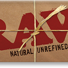 """RAW Natural Unrefined 1 1/4"""" Rollling Papers"""