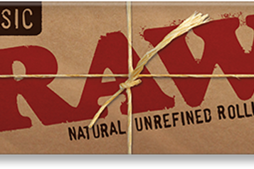 "RAW Natural Unrefined 1 1/4"" Rollling Papers"