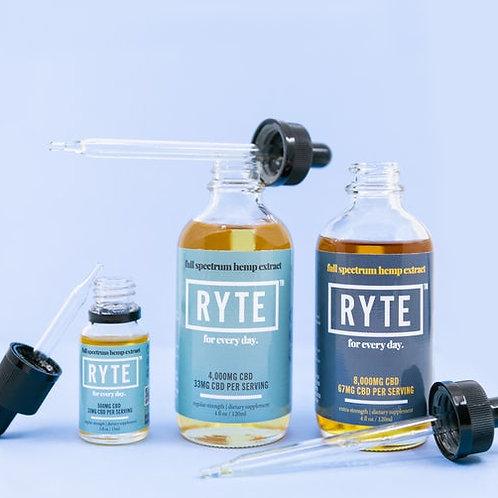 Ryte Brand Full Spectrum Tinctures