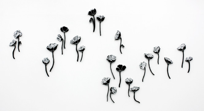 Mourning flowers